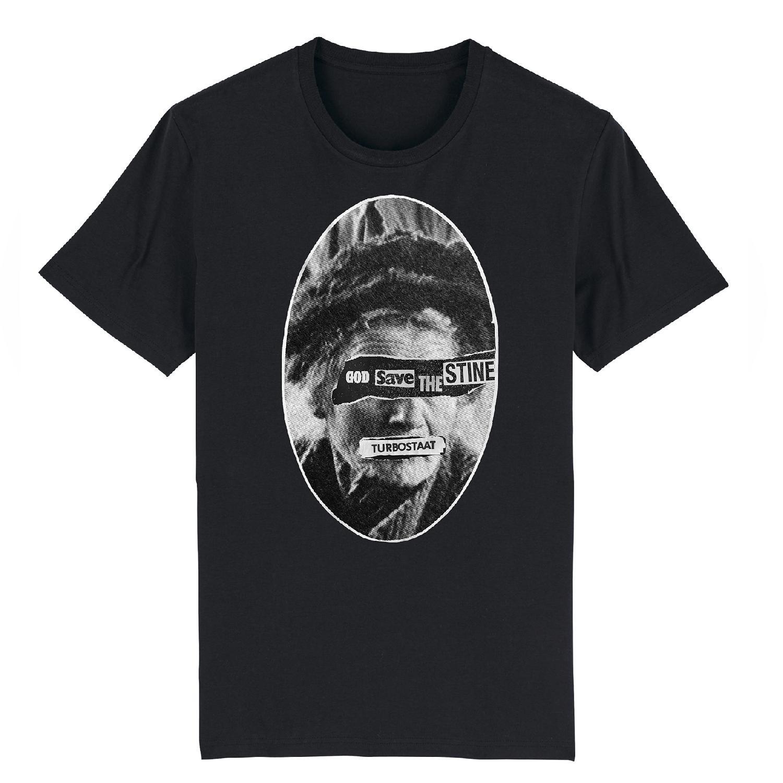 Turbostaat Stine Shirt unisex T-Shirt, schwarz