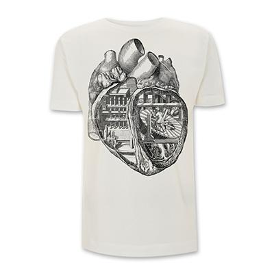 Adel Tawil Herzschrittmacher Boys T-Shirt naturweiß / ungebleicht