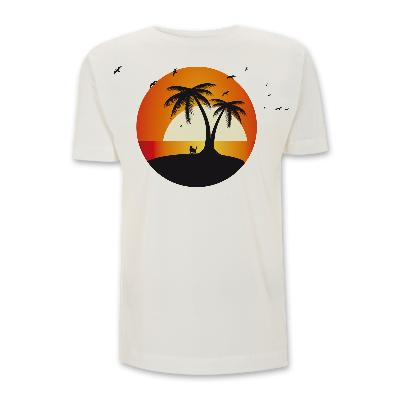 Adel Tawil Kater am Meer Boy T-Shirt naturweiß