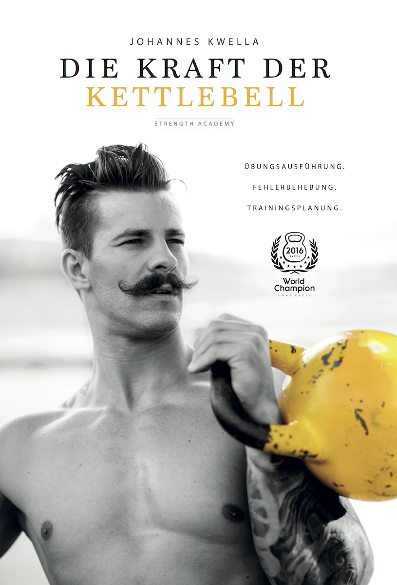 Johannes Kwella Die Kraft des Kettlebell Buch inkl. Versand signiert