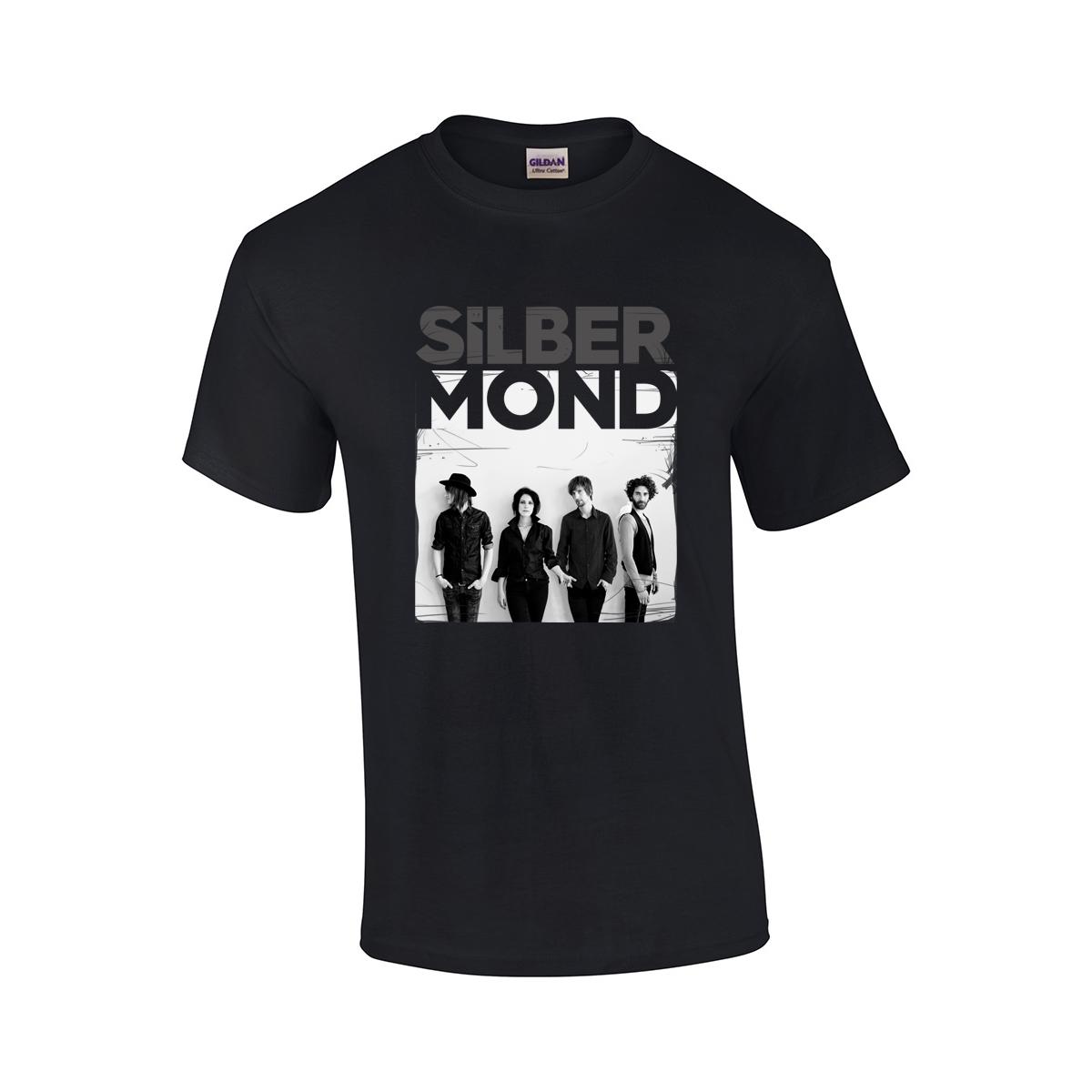 Silbermond Foto-Shirt 2017 Boy T-Shirt schwarz