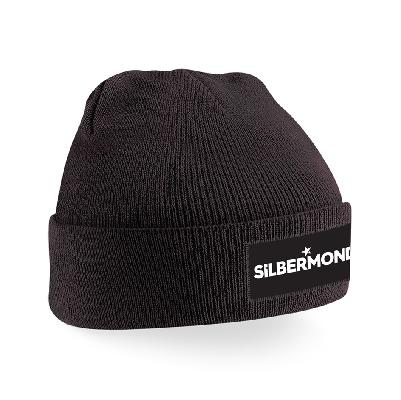 Silbermond Silbermond Mütze Beanie schwarz