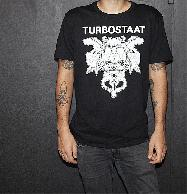 Turbostaat 15 years (male) T-Shirt black
