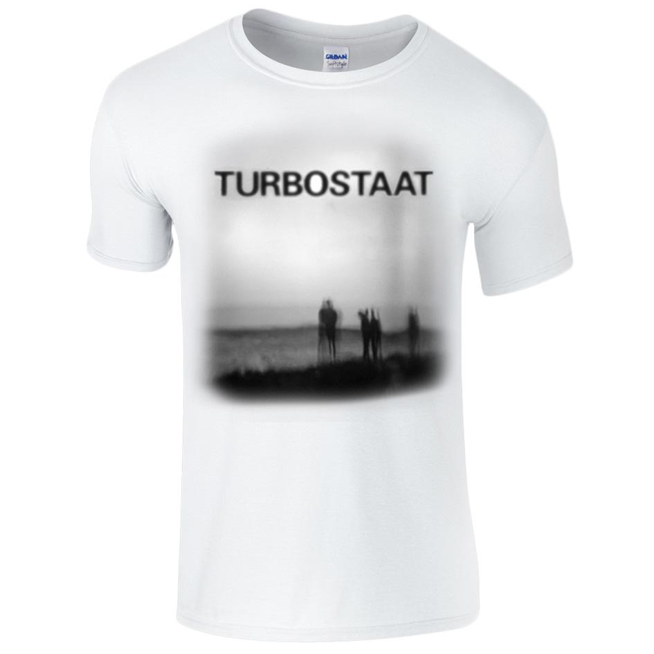 Turbostaat Abalonia (unisex) RESTGRÖSSEN Shirt, BIO weiß