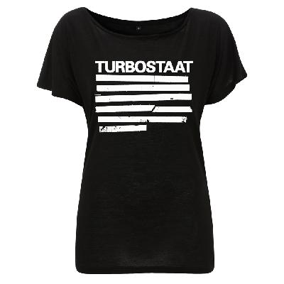 Turbostaat Balken (Frauen) Girlie Öko schwarz
