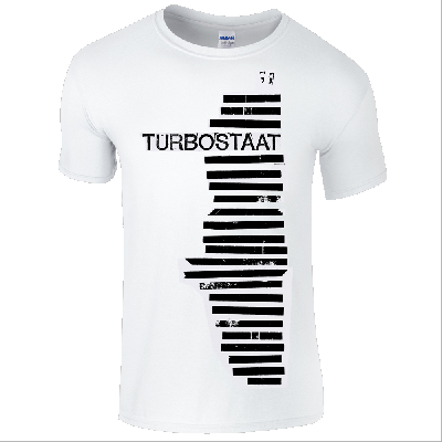 Turbostaat Haubentaucher (Herren) T-Shirt weiß