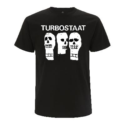 Turbostaat Kerle (Herren) Shirt BIO schwarz