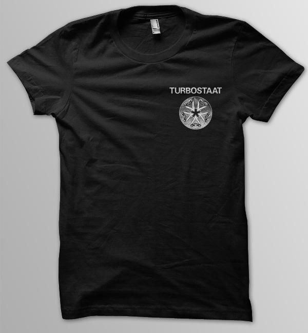 Turbostaat Kleeblatt Pocket Männer T-Shirt, schwarz