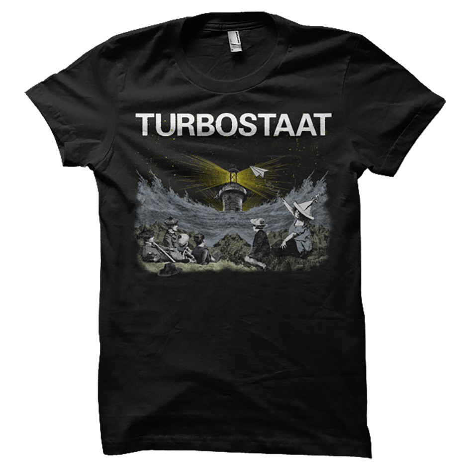 Turbostaat Leuchtfeuer Men T-Shirt black