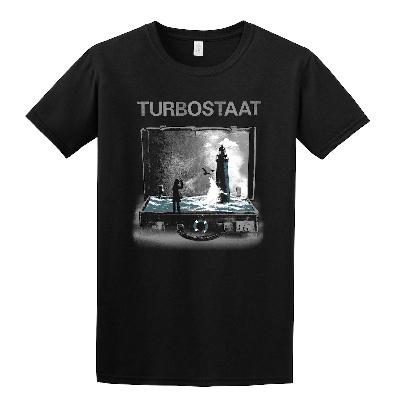 Turbostaat Leuchtturm (Herren) T-Shirt schwarz