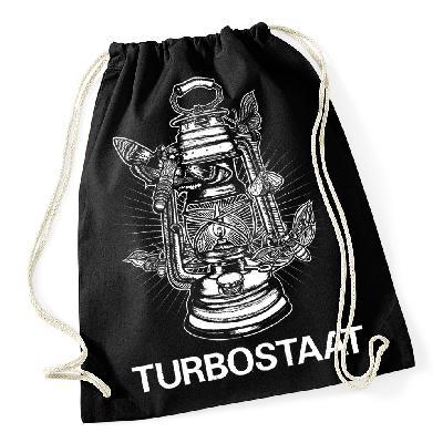 Turbostaat Nachtlicht Turnbeutel Tasche schwarz