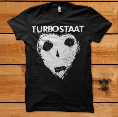 Turbostaat Peter Herz Herren T-Shirt schwarz