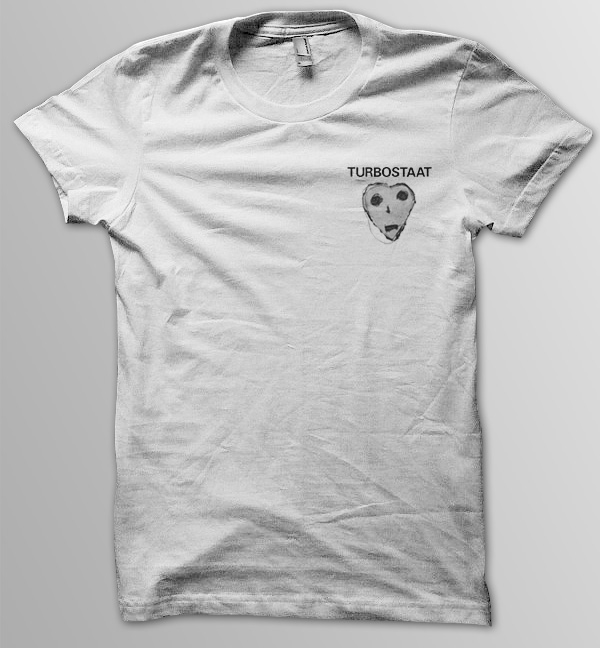 Turbostaat Peterherz Pocket Männer T-Shirt, weiß