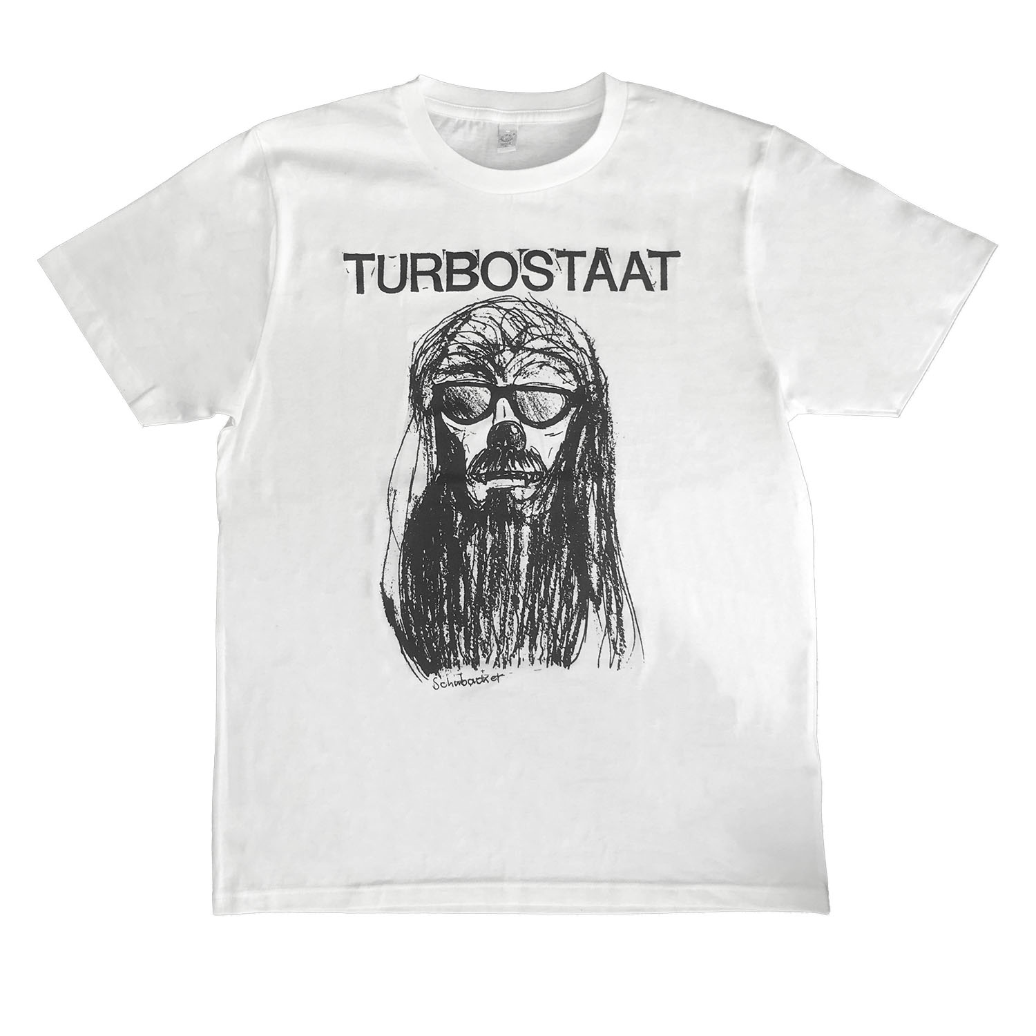 Turbostaat Schubacker T-Shirt, weiß