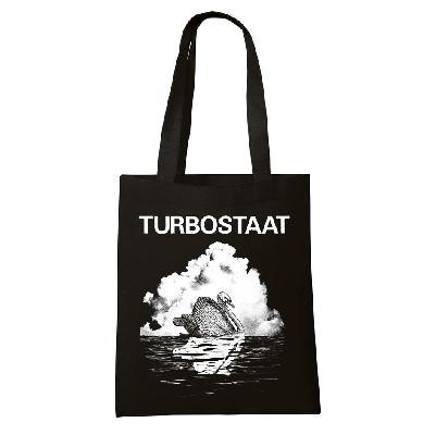 Turbostaat Schwan Beutel Bag schwarz