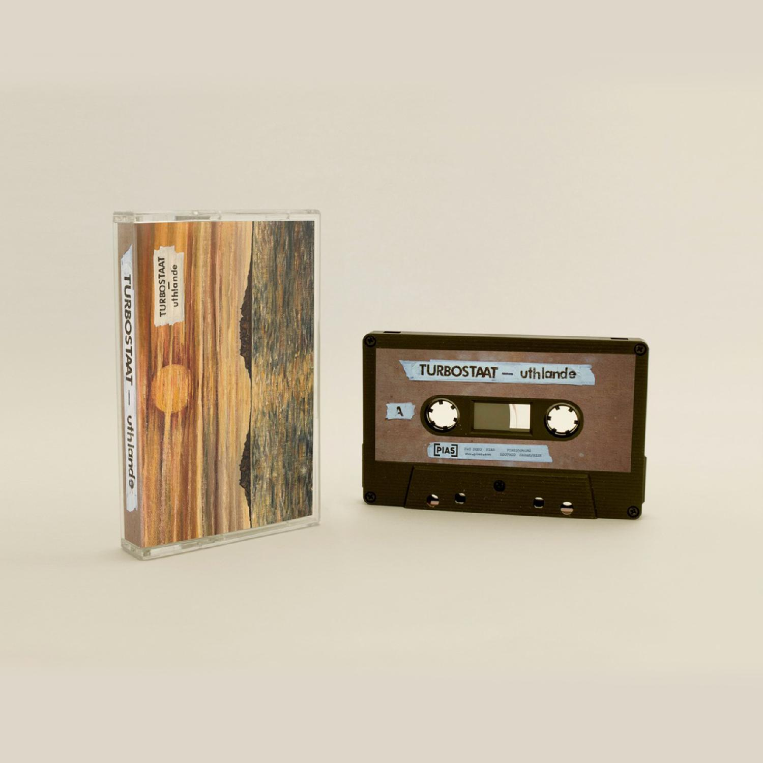 Turbostaat Uthlande MC audio cassette