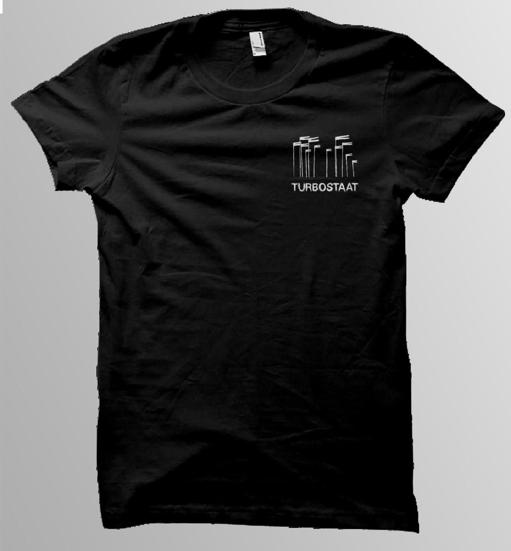 Turbostaat Windhose Shirt Männer T-Shirt, schwarz